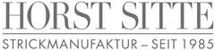 Horst Sitte Strickmanufaktur Logo 240